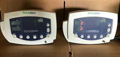 2 Units Of Welch Allyn Vital Signs Monitor 53000 Series