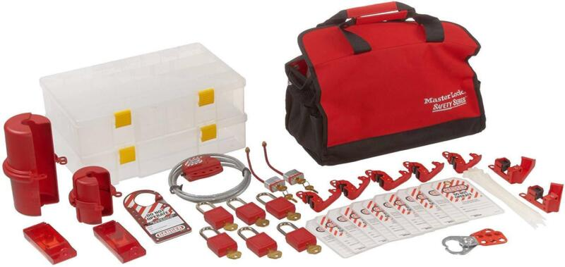 New Master Lock Portable Electrical Lockout Assortment Includes 6 Zenex Padlocks