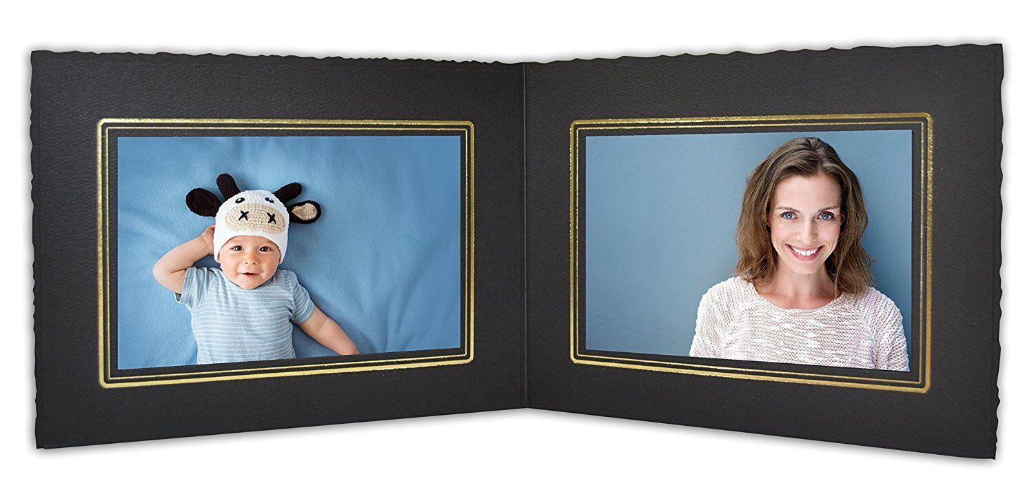 Cardboard Photo Folder For Double 6x4 Photo (pack Of 50) ...