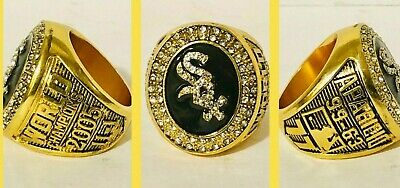 2005 CHICAGO WHITE SOX World Series Championship Ring 18k GOLD PLATED 11 *USA* (World Series 2005)