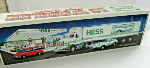 1997 Hess Toy Truck and Racers - Pre Owned!
