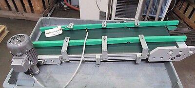 "CARPANELLI ELECTRIC BELT CONVEYOR 36""X10-1/2"" 0.15HP 220/440V 3PH 950FPM"