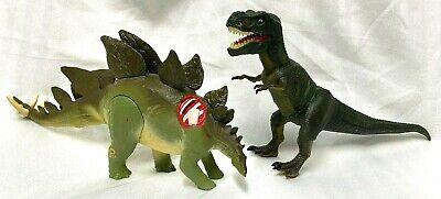 VTG 1997 Jurassic Park Lost World Dino Lot Stegosaurus Young Tyrannosaurus T Rex