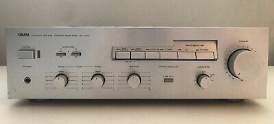 Used, YAMAHA AX-400 | NATURAL SOUND STEREO INTEGRATED AMPLIFIER for sale  Shipping to South Africa