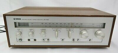 Yamaha CR-420 Stereo Receiver Excellent Condition Tested & Working T5