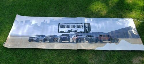 JEEP ADVENTURE DAYS 80TH Dealer Only Vinyl Banner WRANGER GLADIATOR