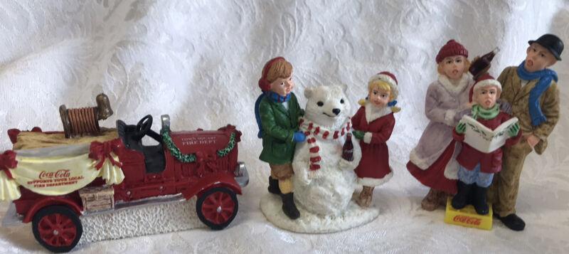 Coca Cola Town Square Collection 1994 Figurines