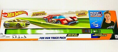 Hot Wheels Track Builder Fox Run 30 feet track pack- Brand new in box