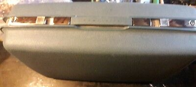 Blue Samsonite Saturn Ladies O'Night Luggage with key Original Box Vintage