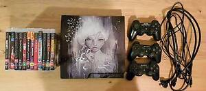 PS3 SLIM 160GB + 12 games + 3 controllers + Guitar Hero Kit Surry Hills Inner Sydney Preview