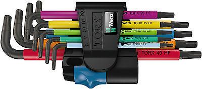WERA 967 SL/9 Torx HF Multicolour Winkelschlüsselsatz mit Haltefunktion 024179