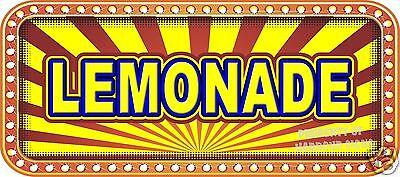 Lemonade Decal 18 Concession Food Truck Restaurant Vinyl Menu Stickers