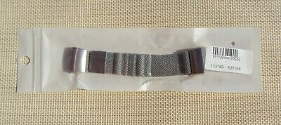 Fitbit 'charge 3' bracelet - stainless steel mesh strap - size small - NEW !!