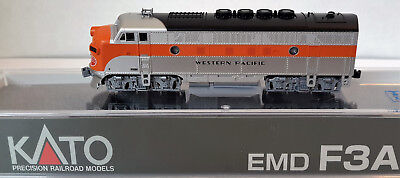 N Scale KATO F3A 'Western Pacific' DCC Ready Item #176-1202 for sale  Prescott