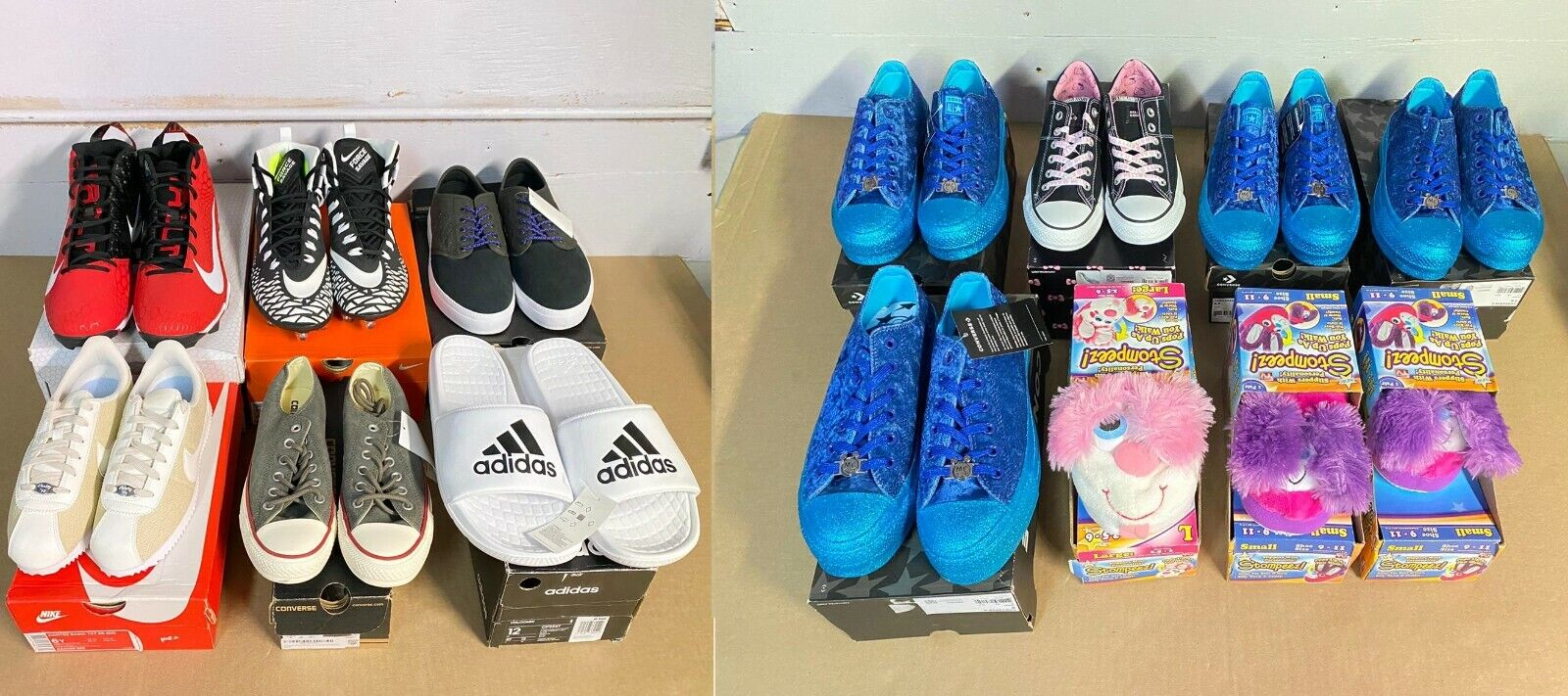 Lot 14 Adidas Converse Nike Resale Shoes Adidas Chuck Taylor Wholesale NWB
