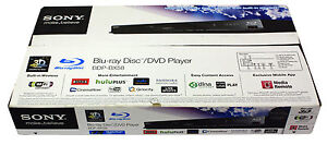Sony BDP-BX58 3D Blu-Ray Player
