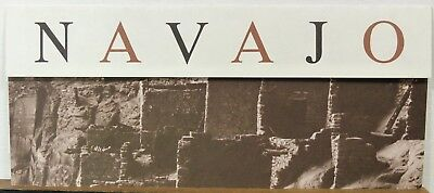 1981 Navajo National Monument Arizona vintage info travel brochure map b