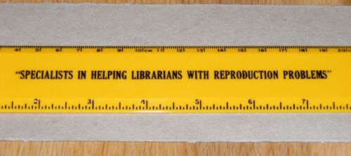 Knoxville TN Photocopy Ruler Helping Librarians With Reproduction Problems Humor