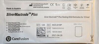 200 Carefusion Silvermactrode Plus Resting Ecg Electrodes Ref 9623-810p Apr-21