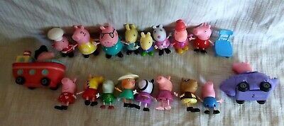 Peppa Pig Dolls Figures Family Friends various outfits mom papa George ++++](George Pig Outfit)
