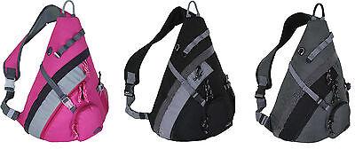 """20"""" HBAG Sling Backpack Single Strap Shoulder Bag Sports School Travel Gym Pack"""