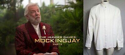 Donald Sutherland - Hunger Games 1 & 2 custom shirt ()