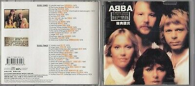 ABBA - The Definitive Collection 1972-1982 2 CD 2003 IMPORT RARE DH2-565