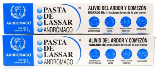 Diaper Rash Ointment Tube PASTA DE LASSAR 110g. (3.9oz)  Pack of 2