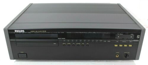 Philips/Marantz CD-80 Audiophile Compact Disc CD Player & Manual Excellent Cond
