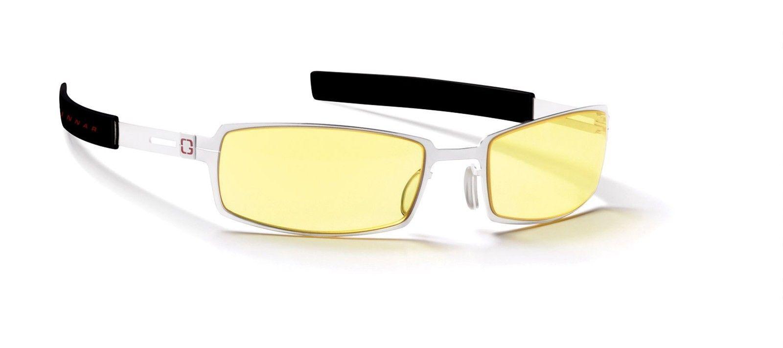 Gunnar Optiks PPK-00701 Snow White Gaming Computer Glassess