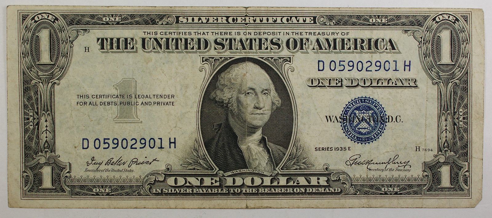 1935 one dollar silver certificate note vg vf old us ebay 1betcityfo Images