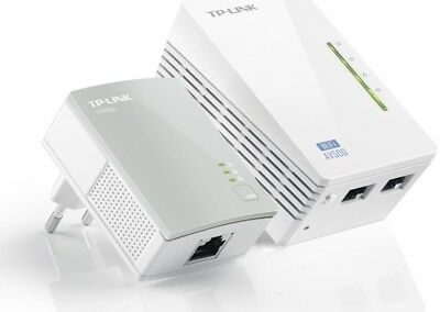 TP-Link TL-WPA4220KIT 300Mbps-AV500 WLAN-Powerline-Extender KIT (Powerline)