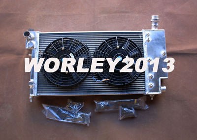 Aluminum radiator + fan for PEUGEOT 106 GTI & RALLYE / CITROEN SAXO VTR manual