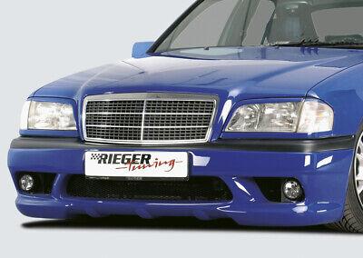 Rieger Stoßstange Spoiler passend für Mercedes C-Klasse W202 00025071 MIT NSW