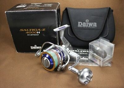 Daiwa SALTIGA-Z 4000H (Hi-SPEED) Spinning Reel   Made in Japan, used for sale  Shipping to Canada