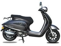 NEW AJS INSETTO 125CC SCOOTER FOR £9.71 PER WEEK
