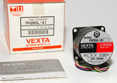 Vexta Ph265l-01 2 Phase Nema 23 Stepper Motor 1.8 Step Stepping