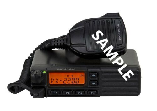 Vertex VX-2200 UHF mobile 50W 128CH 450-512MHz LTR/Passport
