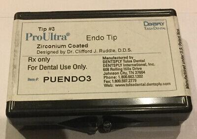 Dentsply Proultra Endo Tip 3 - Ultrasonic - Genuine - Endodontic