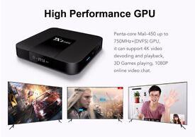 New 2017 TX3 Mini KODI BOX TV Box kodi 17.3 Android 7.1 MEDIA PLAYER S905W 2.4GHz WiFi 2GB+16GB 4K