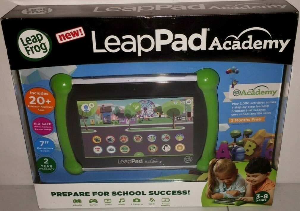 LeapFrog LeapPad 16GB Tablet - Green Brand New Sealed!