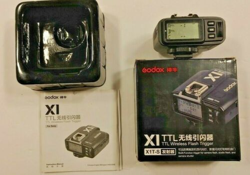Godox X1-s TTL Wireless Trigger Box, instructions