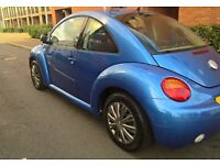 VOLKSWAGEN BETTLE 1.6 SPECIAL EDITION (12 MONTHS MOT JUNE 2018) SERVICE HISTORY [RECENTLY SERVICED]