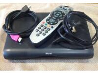 SKY HD Box, Remote, HDMI Cable and Power Lead