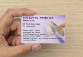 Tony Convery - Painter and Decorator - All Work Guaranteed - Call or Text 07902782969