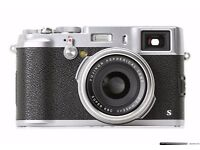 Fujifilm X Series X100S black&silver