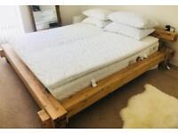 Super King Modern Beam Bed