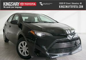 2017 Toyota Corolla CE CVT - Air Conditioning Package
