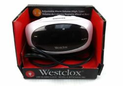Westclox 70044WCN Super Loud Alarm Clock, Black-New(other)