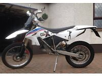 G450X motocross enduro scrambler motorbike BMW